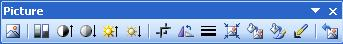 Picture Toolbar Buttons